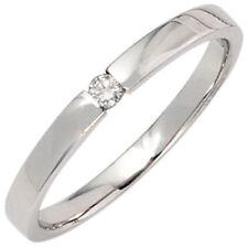 Ringe mit Edelsteinen im Solitär Stil echten natürliche Diamant