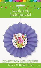 30cm Candy Party Tissue Paper Decorative Fan