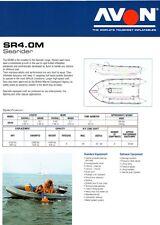 NEW ZODIAC AVON SR 4 m Searider Rib Inflatable Boat Commercial Military Work