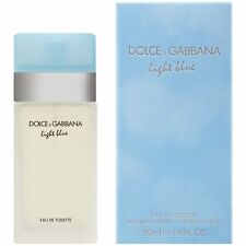 DOLCE AND GABBANA LIGHT BLUE FOR WOMEN 1.6/1.7OZ**EDT**NIB AND SEALED**