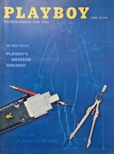 *Playboy April 1959 #65 FN w/ Jules Feiffer and Shel Silverstein