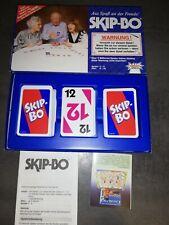 Skip-Bo SKIPBO  Kartenspiel von Amigo  Mit Festen Karten in DE LUXE EDITION  TOP
