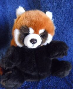 *1816d*  Red Panda puppet - Lelly National Geographic - plush - 25cm