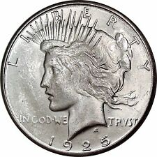 1925-S Peace Dollar Mint State