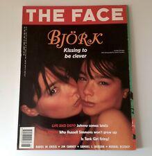 The Face Magazine | June 95 | Bjork | Johnny Depp, Jim Carrey, Samuel L Jackson