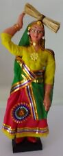 Handmade doll in Indian women's costume. 2000s Free International Shipping