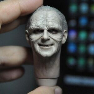 1/6 Emperor Sith Sheev Palpatine CP PPT Head Sculpt Model Fit 12'' COO Figure