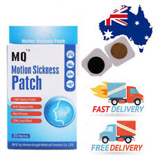 Travel/Motion Sickness Patch - Anti Nausea 100% Natural Safe & Effective 3 pairs