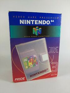 Brand New OFFICIAL OEM Hard Plastic Shell Cases Nintendo 64 Games N64 Protector