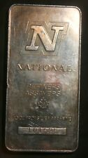 NATIONAL REFINERS 10 OZ  0.999+ FINE SILVER BAR  LOT 220622