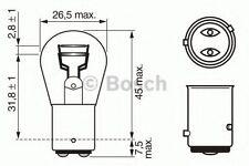 BOSCH Pure/Lt P21/4W 12V Baz15D Trade Pk - 1987302215