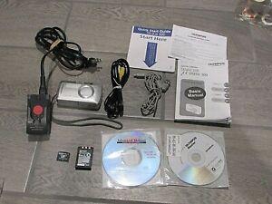 Olympus Stylus 500 Digital 5.0MP Digital Camera - Silver Lot Extras Tested