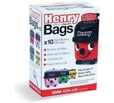 10 x GENUINE HARRY HHR200 HHR200a HHR20012 Numatic Vacuum Hoover Bags