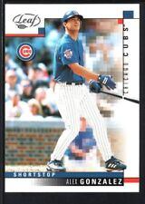 ALEX GONZALEZ 2003 LEAF #139 NATIONAL EMBOSSED CUBS SP #3/5