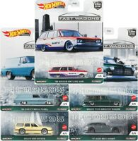 HOT WHEELS 2021 CAR CULTURE FAST WAGONS COMPLETE SET OF 5 CAR PRE-ORDER