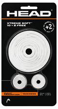 Cabeza Xtreme Suave Rollo raqueta Antivibrador (12 Pack) - Blanco