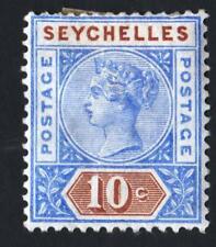 SEYCHELLES N° 4 : NEW PLANCHE II -  year 1890   CV : 13 €