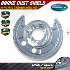 Brake Disc Splash Plate for Fiat Ducato Peugeot Boxer Citroën Relay Rear Right