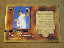 2003 Upper Deck Magical Performances Gold #MP 25 Hideo Nomo - Dodgers #d 35 / 50