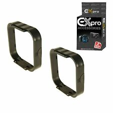 Ex-Pro Square filters lens hood for Cokin P-Series holder P255 [2 Pack]