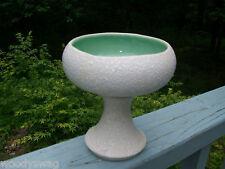 Vintage CC Original USA Pottery Mid Century White Splatter Vase Retro