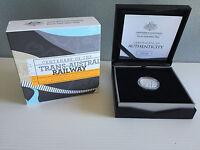 New Mint 2017 Centenary Of Trans-Australian Railway $1 Fine Silver Proof Coin