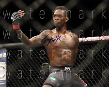 Israel Adesanya signed UFC MMA 8X10 poster picture autograph RP