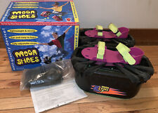 Hart Moon Shoes w/ Many Replacement Rubber Bands Anti Gravity Vintage 1989