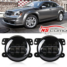 4inch LED Halo Fog Lights DRL For 2005-2009 Dodge Charger Caravan Avenger Nitro