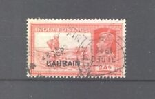 KGVI 1938-41, India 2a with Bahrain overprint, SG 24 Dak Runner, good used