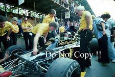JACKY ICKX JPS Lotus 72e Gran Premio di Spagna 1975 fotografia 5