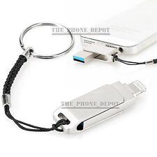 64GB USB i Flash Drive Disk OTG Memory Stick For iPhone 5S 5C 6S 7 Plus iPad PC