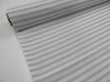 LONETA ESTAMPADA Ref. RAYAS BLANCO GRIS 0,50 mts x ancho 2,80 m