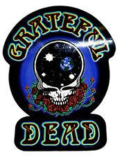 "The Grateful Dead - Universe Skull Logo Sticker 3.5"" x 4.75"""