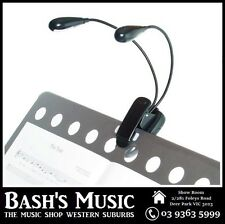 AMS MSL2 Clip-on Flexible Dual LED Music Stand Light