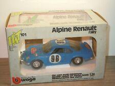 Alpine Renault Rally - Bburago HAT 101 Italy 1:24 in Box *36878