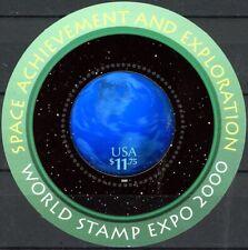 SPACE ACHIEVEMENT AND EXPLORATION Souvenir Sheet Scott's 3412 MNH CRISP