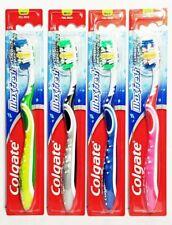 Colgate Max Full Head Toothbrush, MED. - 2green, 2blue, 1gray & 1pink (Lot of 6)
