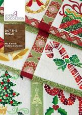 Dot The Halls Anita Goodesign Embroidery Machine Design CD NEW