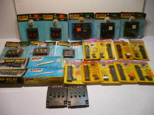 21 - ATLAS HO CONTROLLERS SELECTORS SWITCH MACHINES #52,53,62,63,205,210,215,220