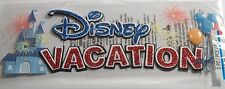 EK SUCCESS DISNEY TITLE DISNEY VACATION Craft Scrapbook Sticker Embellishment