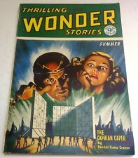 Thrilling Wonder Stories - UK pulp - Summer 1953 - Vol.1 No.10 - Edmond Hamilton