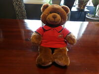 "VHTF 16"" SIGNED St Louis Cardinals ALBERT PUJOLS Plush Build a Bear Shirt & Song"
