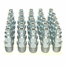 "25 Foster 10-3 M Style Air Hose Fittings 1/4"" Male NPT Coupler Plugs"