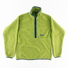 Patagonia Vintage 90s Mens Medium Synchilla Marsupial Pullover 1/2 Zip Sweater