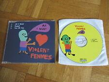 VIOLENT FEMMES All I Want OOP 2000 GERMANY CD single