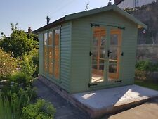 ERECTED  Free up to 50 miles Summerhouse  reading room 10x12 DELIVERED