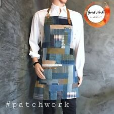 Patchwork Apron for Kitchen Home Gardening Cooking Chef Cafe Barista Gift