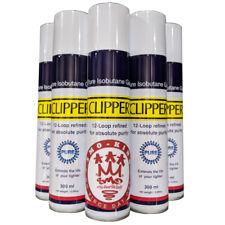 More details for clipper 12 - loop refined iso butane zero impurities gas lighter refill 300ml