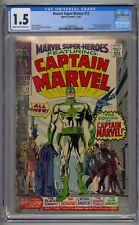 MARVEL SUPER-HEROES #12 CGC 1.5 ORIGIN/1ST CAPTAIN MARVEL